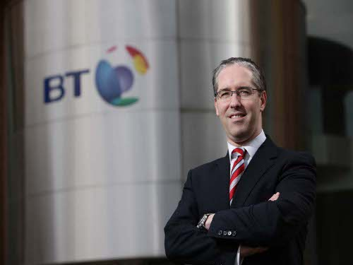Colm O'Neill, CEO, BT Ireland